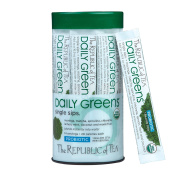 The Republic Of Tea Daily Greens Single Sips, 14 Single Sips
