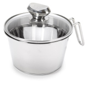 Wolfgang Puck Stainless Steel 1.4l Cook and Stir w/Colander Lid