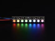 NeoPixel Stick . 8 x 5050 RGBW LEDs . Natural White