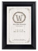 MCS Walden Woods Essentials Frame for Holding Image, 10cm by 15cm , Black