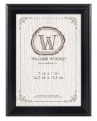 MCS Walden Woods Essentials Frame for Holding Image, 13cm by 18cm , Black