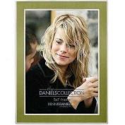 Dennis Daniels Steel Inlay Picture Frame, 13cm x 18cm , Green