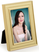 Displays2go Moulded Picture Frame for Tabletop, 5.1cm x 7.6cm , Set of 24
