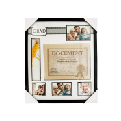 Graduate Collage Photo & Document Frame with Tassel