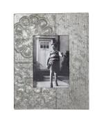 13cm x 18cm Embossed Metal Tin Photo Frame