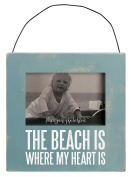Primitives by Kathy Mini Box Frame, The Beach, 4.5 Square Inch