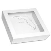 Cathy's Concepts Home State Keepsake Box, White, Florida