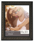 Pinnacle Frames and Accents Black Morrocan Tabletop Picture Frame, 20cm x 25cm