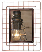 Pinnacle Frames and Accents 15FM2029 13cm x 18cm Copper Wire Tabletop Frame Gold