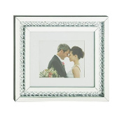 Deco 79 87342 Wood Mirror Wall Photo Frame