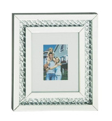 Deco 79 87341 Wood Mirror Wall Photo Frame