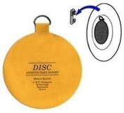 Original English Plate Hanger Disc Kit--quantity of 6 of the Two Inch Discs--For plates up to 15cm in diameter by The Disc Plate Hanger Company