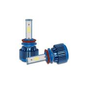 erthome New 2x H11 70W 8000LM CREE Car COB LED Headlight Kit Beam Bulbs 6000K High Power