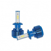erthome 2x H7 70W 8000LM CREE Car COB LED Headlight Kit Beam Bulbs 6000K High Power New