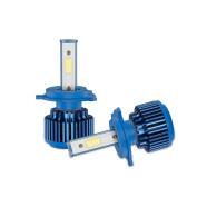 erthome 2x H4 80W 8000LM Car COB LED Headlight Kit Beam Bulbs 6000K High Power 85% Saving