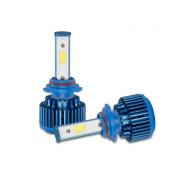 erthome 2x 9005 70W 8000LM CREE Car COB LED Headlight Kit Beam Bulbs 6000K High Power Driver