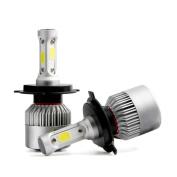 erthome H4 110W 16000LM LED Headlight Conversion Kit Car Beam Bulb Driving Lamp 6000K 55W Each Bulb