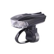 erthome LED USB Intelligent Sensor Rechargeable Cycling Bicycle Bike Light Front Lamp Black