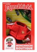 Sekiguchi 254760 Monchhichi Boutique B3 DJ Outfit, Red