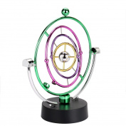 huichang Electronic Perpetual Motion 3D Creative Orbital Desk Revolving Balance Balls Physics Science Toy