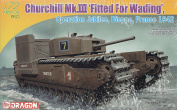 Churchill Mk.III Fitted for Wading Operation Jubilee Dieppe 1942