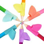 6PCS/Set Pencil Holders for Kids Reduce Fingers' Pain Vigorea Children Writing Grip Correction Device Posture Correction Tool