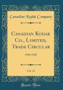 Canadian Kodak Co., Limited, Trade Circular, Vol. 14