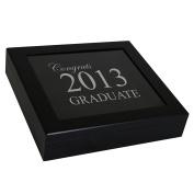 Cathy's Concepts Keepsake Shadow Box, Graduation, Black