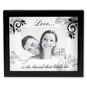Sixtrees Love Matted 10cm by 15cm Frame