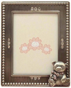 Fei Gifts Teddy Bear Frame, 5.1cm by 7.6cm , Pink