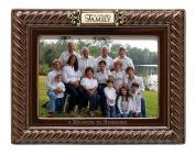 """Grasslands Road """"Family Reunion"""" Ceramic Frame, Brown, 13cm by 18cm"""