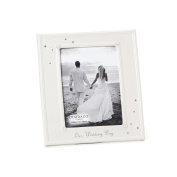 DEMDACO From This Day Forward Our Wedding Day Frame, 13cm by 18cm