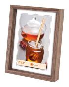 Zep 20 x 30 cm Wood Cornice Hamburg Photo Frame, Brown