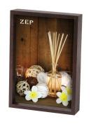 Zep 15 x 20 cm Wood Cornice Zurigo Photo Frame, Brown