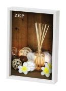 Zep 13 x 18 cm Wood Cornice Zurigo Photo Frame, White