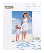 Zep Bahamas Photo Frame, Wood, White