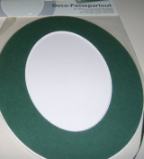 "Deco-frame/ mount ""Oval"" - Colour"
