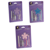 PMS 6pc Nail Pamper Set On Blister Card 3asstd Colours