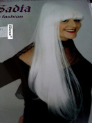 White Wig Sadia – More Real Than What. It Will Look Good On You. Adult Fun Item, not suitable for children under 14 years. Attention Please Stay a strong and a flame fire Source