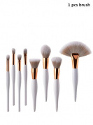 Clearance . Makeup Brush,Challen Wooden Handle Large Fan-Shaped Makeup Brush Face Powder Foundation Cosmetic Brush Make Up Foundation Eyebrow Eyeliner Brush, Professional Cosmetic Makeup Brush Bag With Artist Belt Strap For Women Makeup Brush
