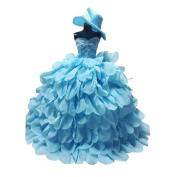[Fit Doll] Lace Dress/Gowns For Doll/Girl's Present/Doll Dress,Blue