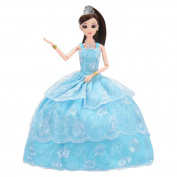 Chinese Style Wedding Dress Doll Simulation People Dolls Princess Toy-K
