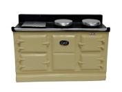 Melody Jane Dolls House 4 Oven Cream Aga Stove 1:12 Miniature Kitchen Furniture