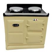 Melody Jane Dolls House 2 Oven Cream Aga Stove 1:12 Miniature Kitchen Furniture