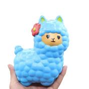 Oyedens Jumbo Alpaca Sheep Squishy Slow Rising Fun Toy Relieve Stress Kid Adult Joke Toy