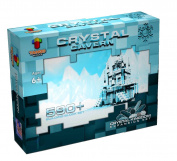 TangoBlocks Frozen Ice Princess Crystal Cavern Castle 590+ Building Block Pieces Crystal Kingdom Expansion Set - Educational Brick Toys For Children Girls and Boys
