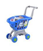 My Shopping Cart - Blue & Grey
