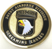 NEW 101st Airborne Division Challenge Coin - Ships in 24 hours by Eagle Crest