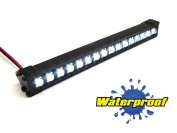 Gear Head RC 1/10 Scale Trek Torch LED Light Bar - White