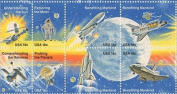 Space Achievement Issue Set of 8 x 18 Cent US Postage Stamps NEW Scot 1912-19